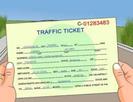 traffic ticket
