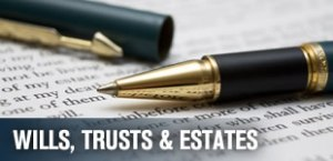 wills trusts estates healthcare proxy living will