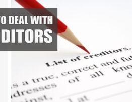 creditors and covid